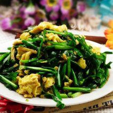 韭菜炒鸡蛋的做法步骤