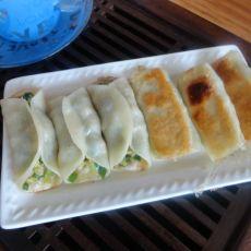 角瓜韭菜锅贴的做法