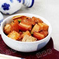 韩式酱笋烧豆腐
