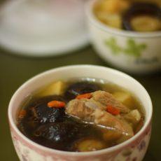 排骨蘑菇汤