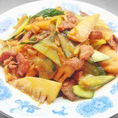 春笋黄瓜炒肉