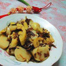 梅菜春笋炒年糕