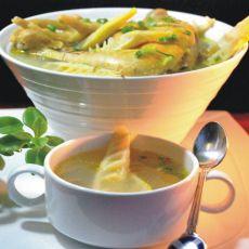 春笋炖母鸡汤的做法
