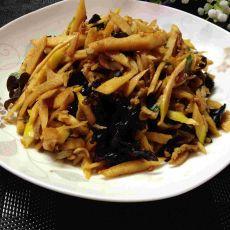 春笋炒肉丝的做法