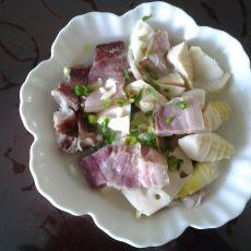 春笋咸肉的做法