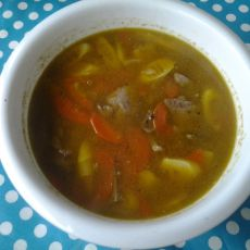 猪肝笋片汤