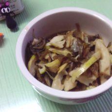 春笋炒咸菜