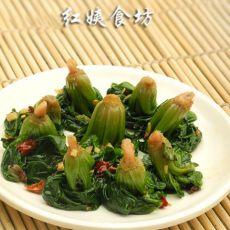 姜汁菠菜卷