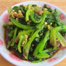 凉拌蒜蓉菠菜
