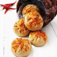 烤燕麦包的做法