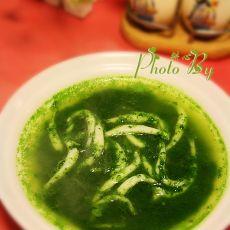 银鱼菠菜汤的做法