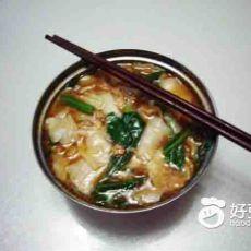 新疆家常揪片汤饭的做法