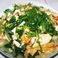 菠菜烧豆腐