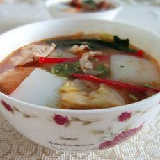 粉汤――女儿汤,新疆味道