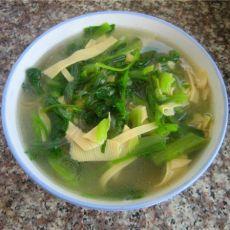 菠菜骨头汤