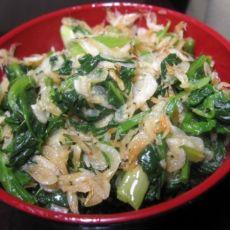 虾皮炒菠菜的做法