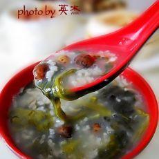 山药豆菠菜营养粥
