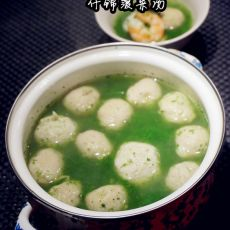 什锦菠菜汤的做法