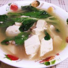 菠菜炖豆腐