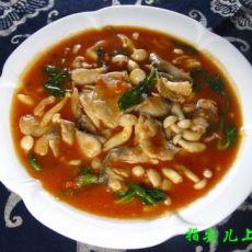 番茄蘑菇鱼片的做法