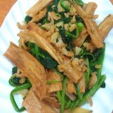 腐竹炖菠菜