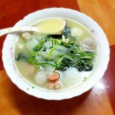 蔬菜肉丸汤