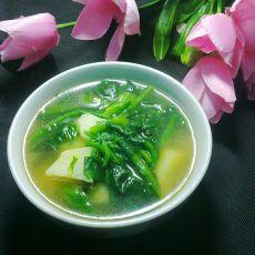 土豆菠菜汤的做法