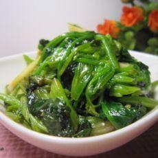 蒜香炒菠菜