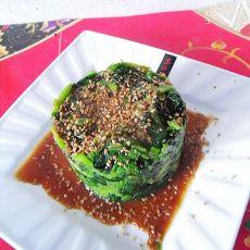 芝麻菠菜墩