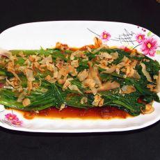 柴鱼姜汁菠菜
