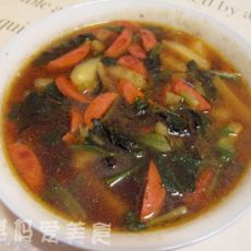 火腿菠菜土豆汤