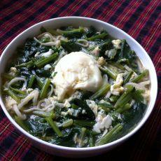 菠菜面条汤