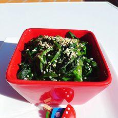 芝麻凉拌菠菜