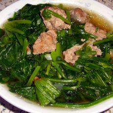 菠菜牛王丸汤