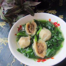 海螺丸菠菜汤的做法