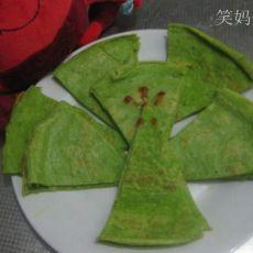 翡翠菠菜鸡蛋饼