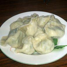 菠菜韭菜猪肉水饺
