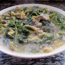 菠菜什锦汤的做法
