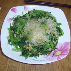 菠菜粉丝虾皮