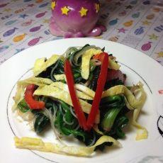 蒜香蛋菠菜