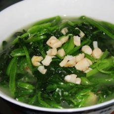 干贝煮菠菜