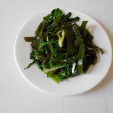 菠菜拌海带