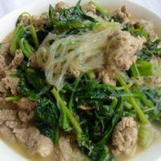 鸡蛋虾酱菠菜汤