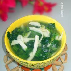 杏鲍菇菠菜汤
