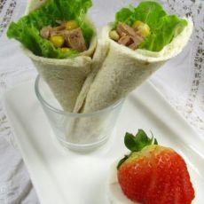 金枪鱼三明治卷