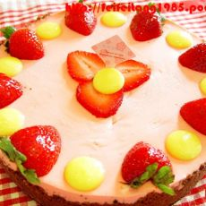 草莓玛格丽特馅饼的做法