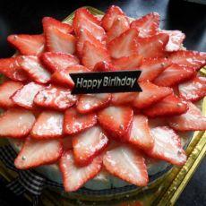 草莓马拉卡夫蛋糕