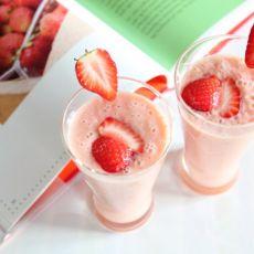 草莓思慕雪Smoothie的做法