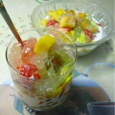奶香西米水果捞