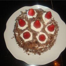 巧克力屑奶油蛋糕的做法
